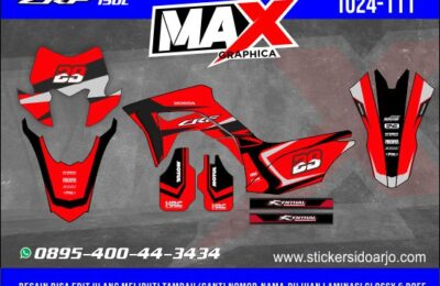 Decal CRF 150L Motif Supermoto Adventure